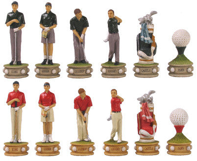 Fame 7459 Golf II Chess Pieces