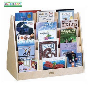 Guidecraft Double Sided Book Browser