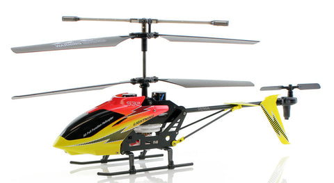 JP Commerce s032g_24_Red 2.4Ghz 3.5ch Syma S032G Big Size RC Helicopter - Red - Peazz Toys