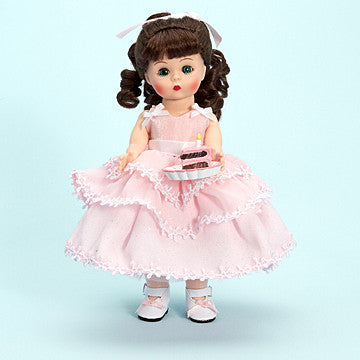Madame Alexander Happy Birthday Wendy 8 in doll - Brunette - Peazz Toys
