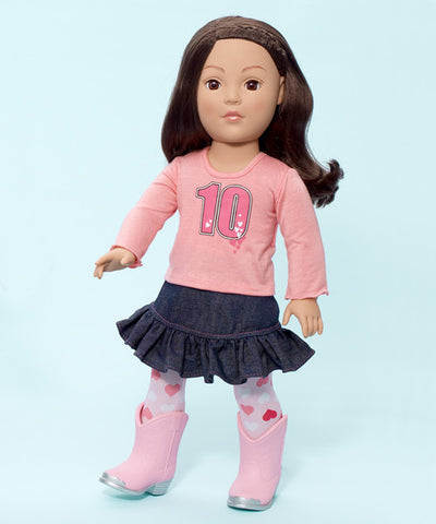 Madame Alexander Favorite Friends Urban Cowgirl - 18 in doll - Peazz Toys