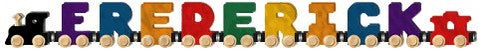 Maple Landmark 10079 NameTrain Bright 9 Letter Eng Cab - Peazz Toys