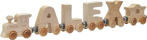 Maple Landmark 10474 NameTrain Clear 4 Letter Eng Cab - Peazz Toys