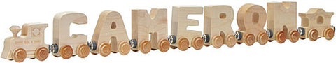 Maple Landmark 10477 NameTrain Clear 7 Letter Eng Cab - Peazz Toys