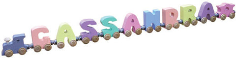 Maple Landmark 10879 NameTrain Pastel 9 Letter Eng Cab - Peazz Toys