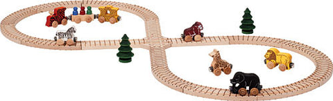 Maple Landmark 11235 NameTrain Safari Train Set - Peazz Toys