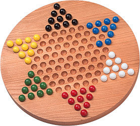 Maple Landmark 50305 Chinese Checkers, Standard - Peazz Toys