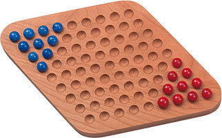 Maple Landmark 50310 Chinese Checkers, Two Player - Peazz Toys
