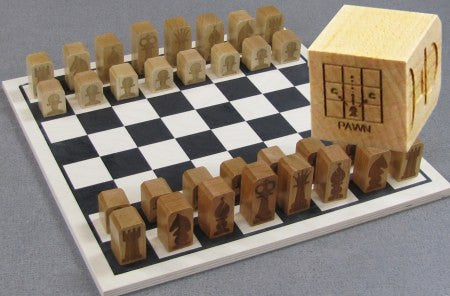 Maple Landmark 50316 Chess, Basic Set - Peazz Toys
