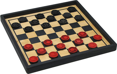 Maple Landmark 50327 Checkers, Player's Choice, Premium - Peazz Toys
