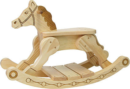 Maple Landmark 73060 Rocker-Feller Rocking Horse - Peazz Toys
