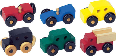 Maple Landmark 74050 Mite, Set of Six, Colored - Peazz Toys