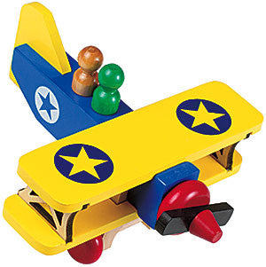 Maple Landmark 76004 Classic, Biplane - Peazz Toys