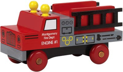 Maple Landmark 76110 Classic, Fire Truck - Peazz Toys
