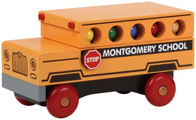 Maple Landmark 76130 Classic, School Bus - Peazz Toys