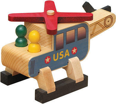 Maple Landmark 76180 Classic, Helicopter - Peazz Toys