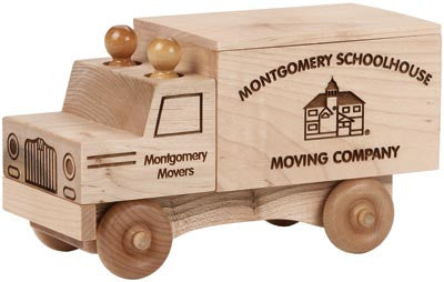 Maple Landmark 76220 Natural Classic, Moving Truck - Peazz Toys