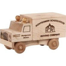 Maple Landmark 76221 Unfinished Classic, Moving Truck - Peazz Toys