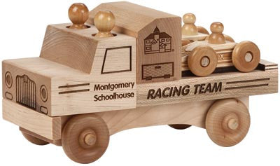 Maple Landmark 76225 Natural Classic, Racing Team - Peazz Toys