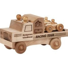 Maple Landmark 76226 Unfinished Classic,Racing Team - Peazz Toys