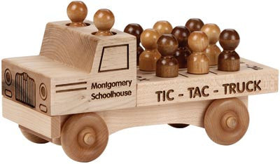 Maple Landmark 76235 Natural Classic, Tic Tac Truck - Peazz Toys