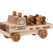 Maple Landmark 76236 Unfinished Classic, Tic Tac Truck - Peazz Toys