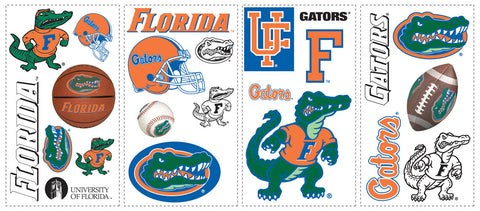 University of Florida Peel & Stick Wall Decals    (RMK1051SCS) - Peazz Toys