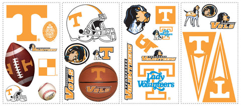 University of Tennessee Peel & Stick Wall Decals (RMK1069SCS) - Peazz Toys