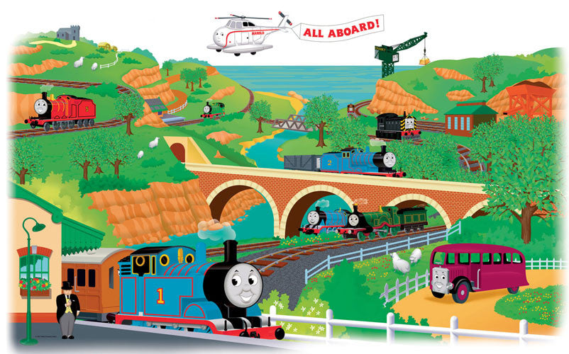 Thomas & Friends Peel & Stick Giant Wall Decal (RMK1081GM)