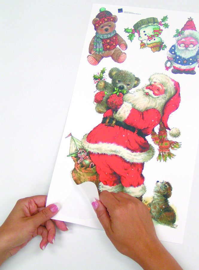 Santa Peel & Stick Wall Decals (RMK1112SCS)