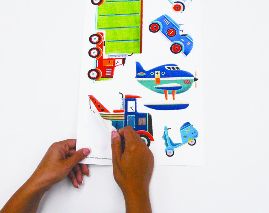Transportation Peel & Stick Wall Decals               (RMK1132SCS)