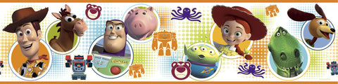 Toy Story 3 Peel & Stick Border (RMK1429BCS) - Peazz Toys