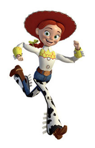Toy Story Jessie Giant Peel & Stick Wall Decal (RMK1432GM) - Peazz Toys
