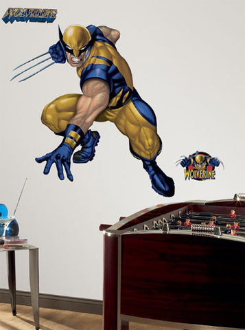 Wolverine Peel & Stick Giant Wall Decal (RMK1485GM) - Peazz Toys