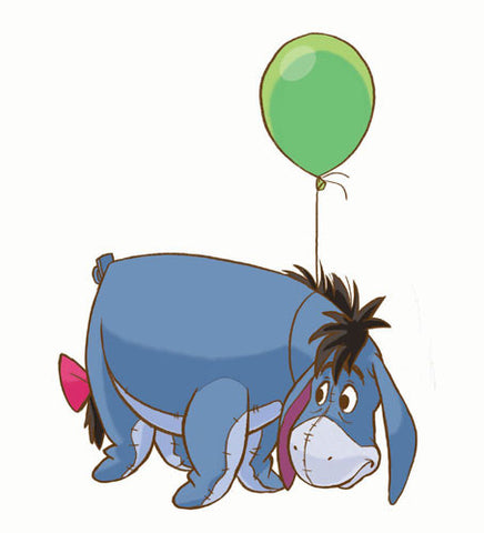 Winnie the Pooh - Eeyore Peel & Stick Giant Wall Decal (RMK1503GM) - Peazz Toys
