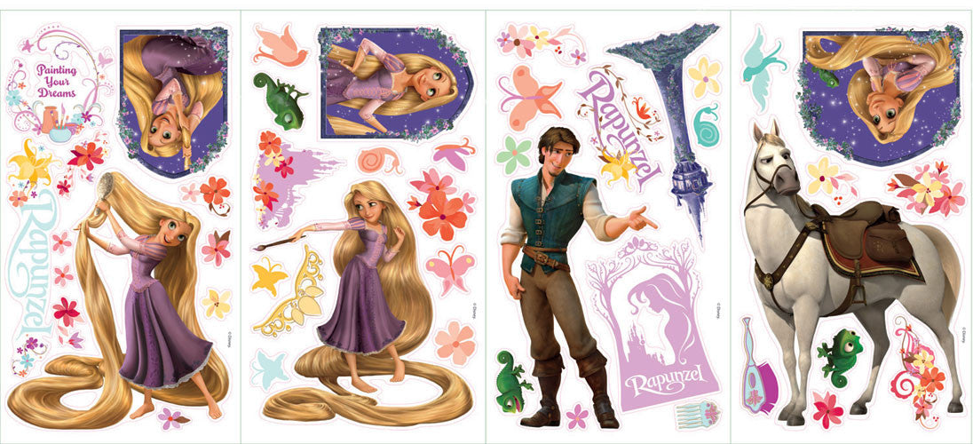 Tangled - Rapunzel Peel & Stick Wall Decal (RMK1524SCS)