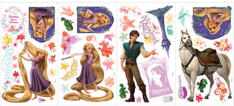 Tangled - Rapunzel Peel & Stick Wall Decal (RMK1524SCS) - Peazz Toys