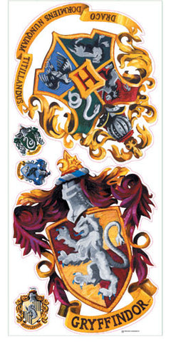 Harry Potter - Crest Peel & Stick Giant Wall Decal (RMK1551GM) - Peazz Toys