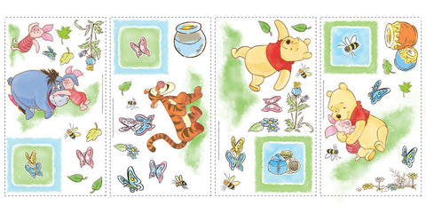 Winnie the Pooh - Toddler Peel & Stick Wall Decals (RMK1630SCS) - Peazz Toys