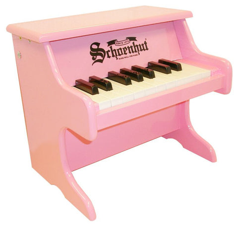Schoenhut 18 Key My First Piano - Pink 1822P - Peazz Toys