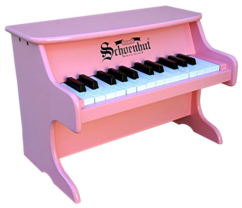 Schoenhut 25 Key My First Piano II - Pink 2522P - Peazz Toys