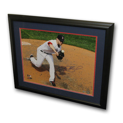 "Autographed Daniel Bard 16X20 Framed Photo ""Boston Red Sox"" (MLB Authenticated) - Peazz Toys"