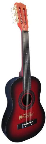 Schoenhut 605RB Acoustic Guitar Red/Black - Peazz Toys