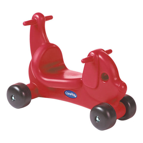 CarePlay 2002P Puppy Ride-On Walker - Red - Peazz Toys