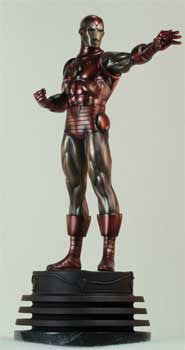Bowen Designs BD000927 Iron Man Faux Bronze Statue Classic Exclusive - Peazz Toys