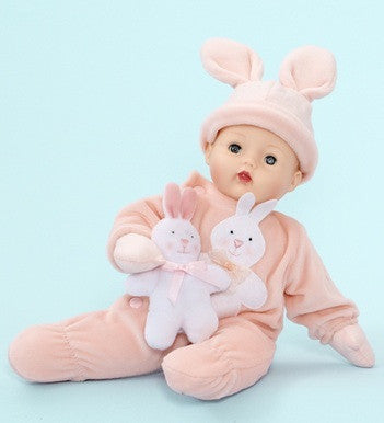 "Pink Bunny Huggums  - 12"" (28960) - Peazz Toys"