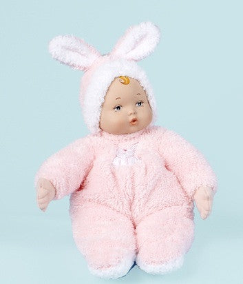 "My First Baby  Lullaby Bunny Baby - 12"" (49030) - Peazz Toys"