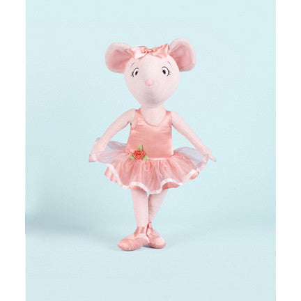 "Angelina Ballerina Cloth - 18"" (51290) - Peazz Toys"