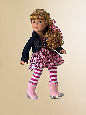 "Too Cute In Boots - 18"" (52170) - Peazz Toys"