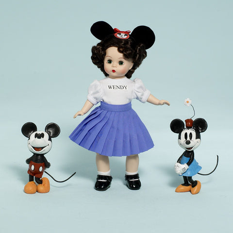 "Mouseketeer Wendy - 8"" (60725) - Peazz Toys"